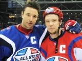 Илья Ковальчук и Сергей Мозякин