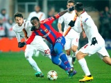Сейду Думбия в матче против «Ромы»