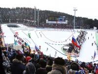 Биатлонный комплекс в Ханты-Мансийске