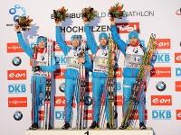 Россия выиграла первую в сезоне эстафету