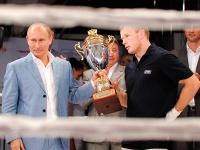 Владимир Путин и Александр Шлеменко