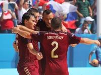 Пляжный футбол. Россия победила Мадагаскар
