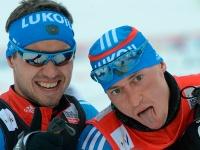 Илья Черноусов и Александр Легков