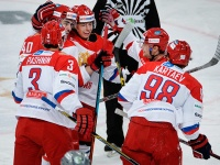 Игроки сборной России по хоккею