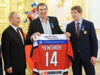 Александр Овечкин и Николай Кулёмин