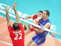 Волейболисты России уступили команде Ирана