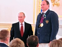 Владимир Путин и Алексей Ашапатов