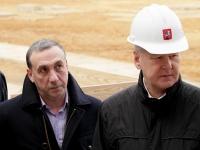 Евгений Гинер и Сергей Собянин