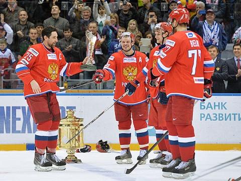 Капитан сборной России Данис Зарипов