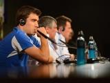 Пресс-конференция сборной Греции