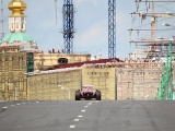 Болид Scuderia Ferrrari на Moscow City Racing