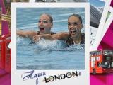 Наши в Лондоне. Синхронное плавание.