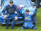 Сольберг и Миллз празднуют победу в сезоне-2003