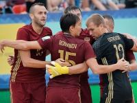 Пляжный футбол. Россия – Португалия – 4:3