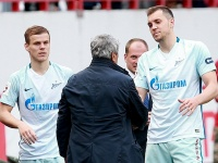 Александр Кокорин, Мирча Луческу и Артём Дзюба