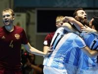 Чемпионат мира по мини-футболу. Россия — Аргентина