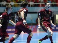 Чемпионат мира по мини-футболу. Россия — Испания