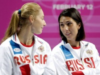 Екатерина Макарова и Анастасия Мыскина