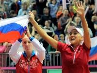 Елена Веснина и Светлана Кузнецова