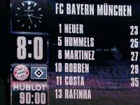 «Бавария» — «Гамбург» — 8:0