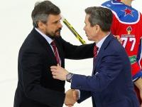 Дмитрий Квартальнов и Вячеслав Быков