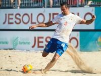 Пляжный футбол, Россия - Чехия