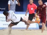 Пляжный футбол, Россия - Франция