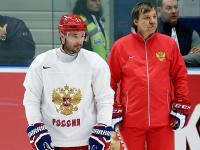 Илья Ковальчук и Олег Знарок