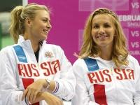 Мария Шарапова и Светлана Кузнецова