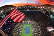 2-й день US Open. Ливень смыл расписание вторника. Как это было