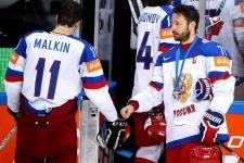 Евгений Малкин и Илья Ковальчук
