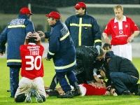 «Папочка, нужно молиться». Ещё раз о важности медицины в футболе