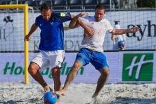 Пляжный футбол, Россия — Франция, Мундиалито