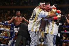 Энтони Джошуа победил Энди Руиса и вернул себе пояса WBA, WBO и IBF