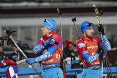 В сборной России по биатлону недовольны четвёртым местом в эстафете