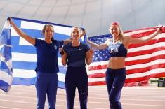 ЧМ по лёгкой атлетике 2019, Мария Ласицкене в финале по прыжкам в высоту