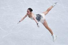 Косторная установила мировой рекорд в финале Гран-при, Загитова — вторая