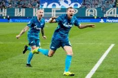 Расклады группы «Зенита» в Лиге чемпионов