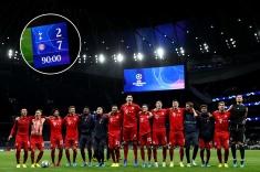 Самые результативные матчи в истории групповых этапов Лиги чемпионов