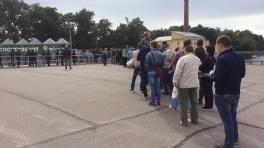 «Тосно» — «Уфа»: огромная очередь в кассы «Петровского»