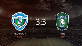 Обзор матча «Авангард» — «Томь»