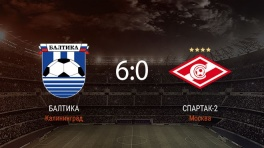 Обзор матча «Балтика» — «Спартак-2»