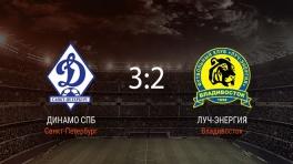 Обзор матча «Динамо СПб» — «Луч-Энергия»