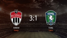 Обзор матча «Химки» — «Томь»