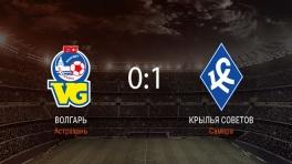 Обзор матча «Волгарь» — «Крылья Советов»