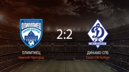 Обзор матча «Олимпиец» — «Динамо СПб»