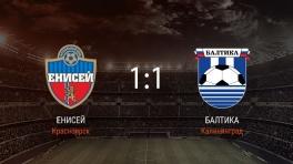 Обзор матча «Енисей» — «Балтика»