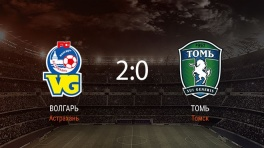 Обзор матча «Волгарь» — «Томь»