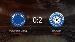Обзор матча «Ротор-Волгоград» — «Оренбург»