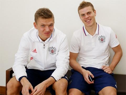 Олег Шатов и Александр Кокорин
